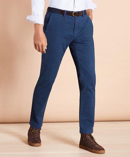 Tartan Twill Pants