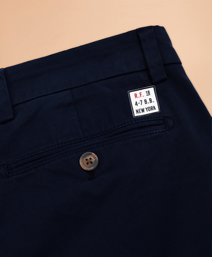 Limited-Edition Red Fleece Chinos