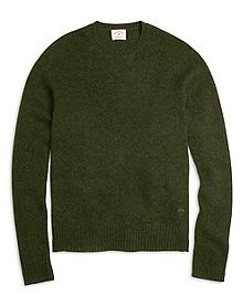 Shetland Wool Crewneck Sweater