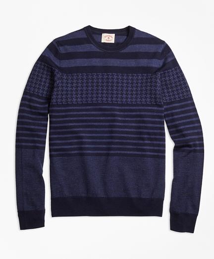 Merino Wool Fun Crewneck Sweater