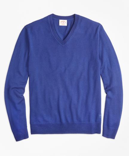Merino Wool V-Neck Sweater