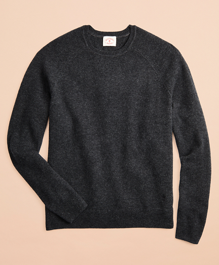 Lambswool Raglan Crewneck Sweater