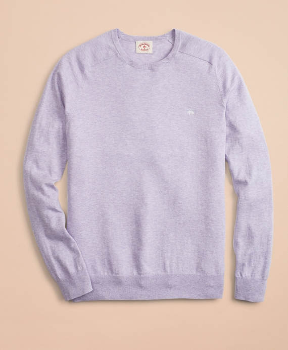 Cotton Cashmere Crewneck Sweater by Brooks Brothers