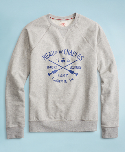 2018  Head Of The Charles® Regatta French Terry Sweatshirt