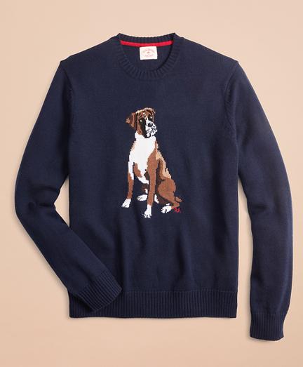 Merino Wool Boxer Sweater