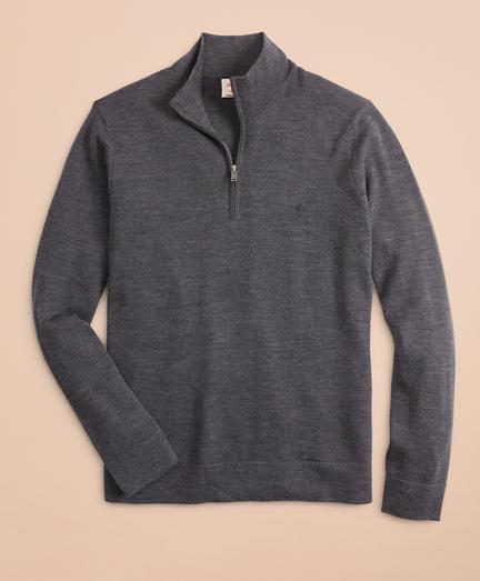 Merino Wool Half-Zip Sweater