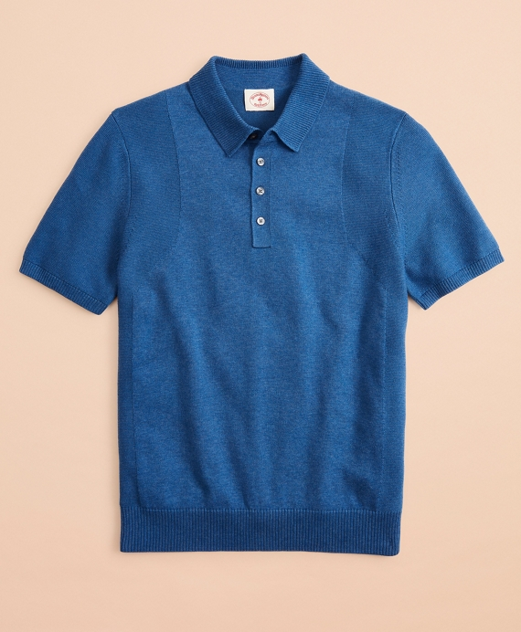 COOLMAX® Polo Sweater Blue