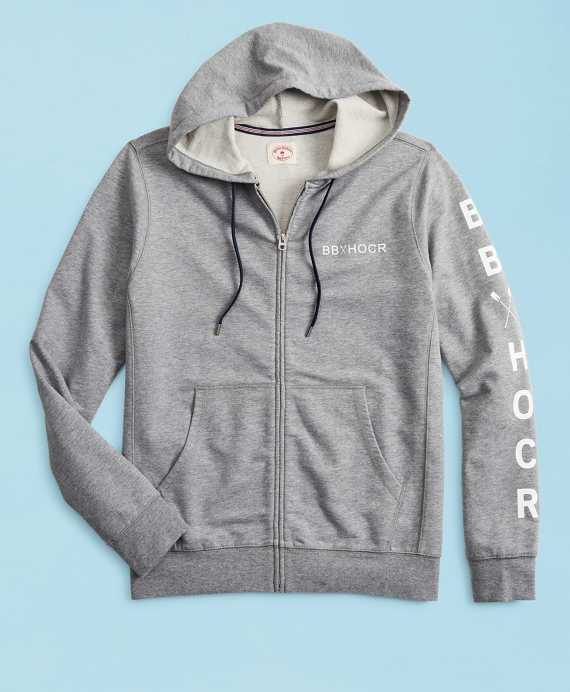 2019  Head Of The Charles® Regatta French Terry Hoodie Grey