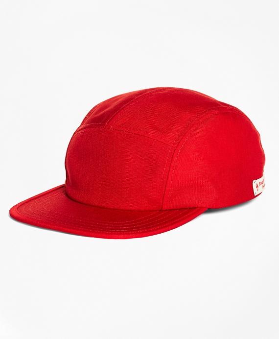 Cordura Nylon Baseball Hat Red