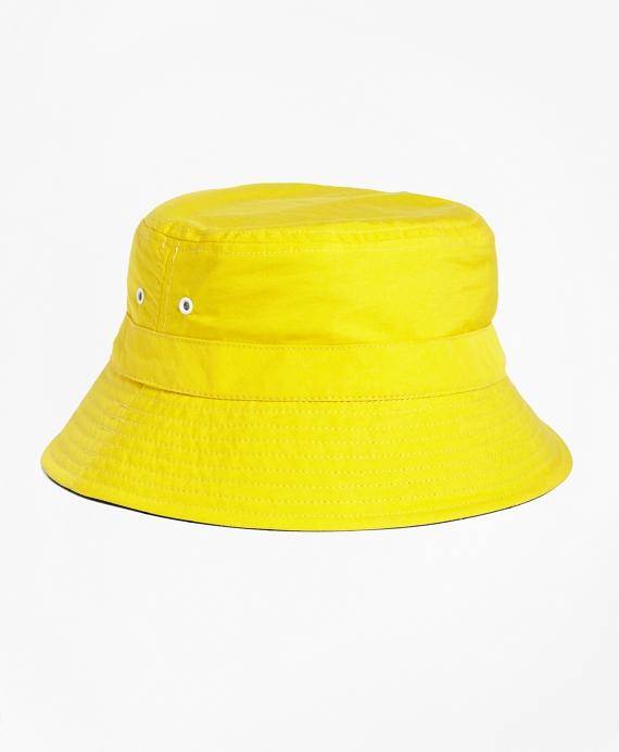 Reversible Nylon Bucket Hat - Brooks Brothers 6ca67a83481