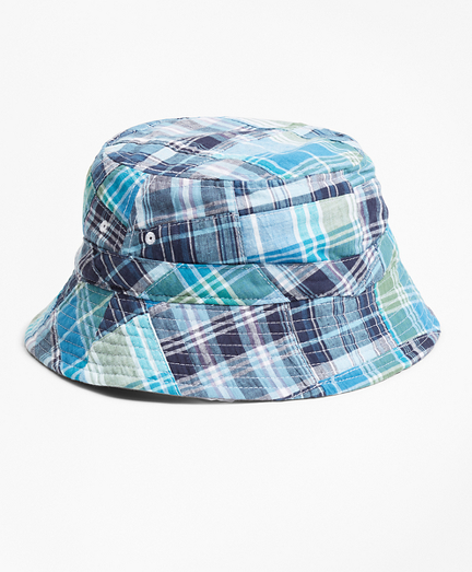 Reversible Patchwork Cotton Bucket Hat