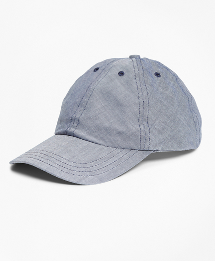 Chambray Baseball Hat