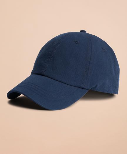Seersucker Baseball Hat