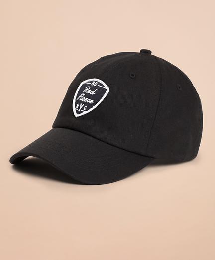 Red Fleece NYC Baseball Hat