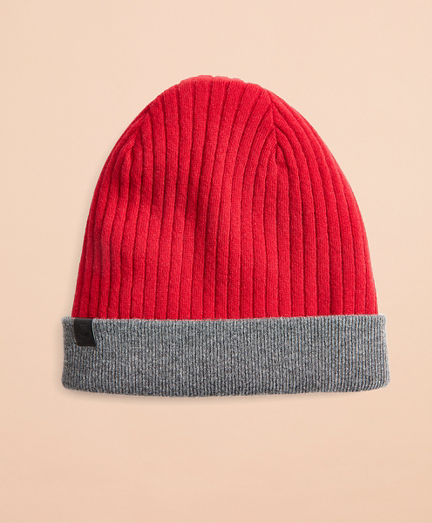Reversible Wool-Blend Hat