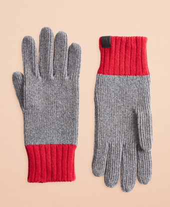 Wool-Blend Gloves