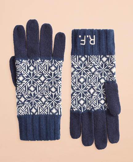 Nordic Wool-Blend Gloves