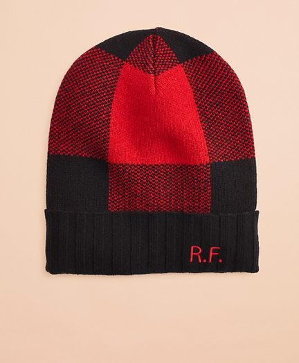 Buffalo Plaid Wool-Blend Hat