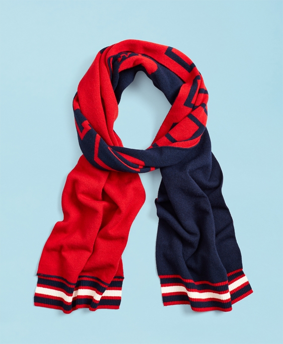 2019  Head Of The Charles® Regatta Wool-Blend Scarf Navy