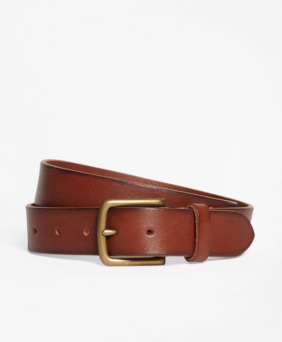 Leather Belt Cognac