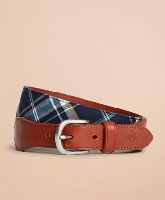 Madras Leather Belt