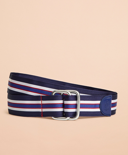 Striped Ribbon Belt