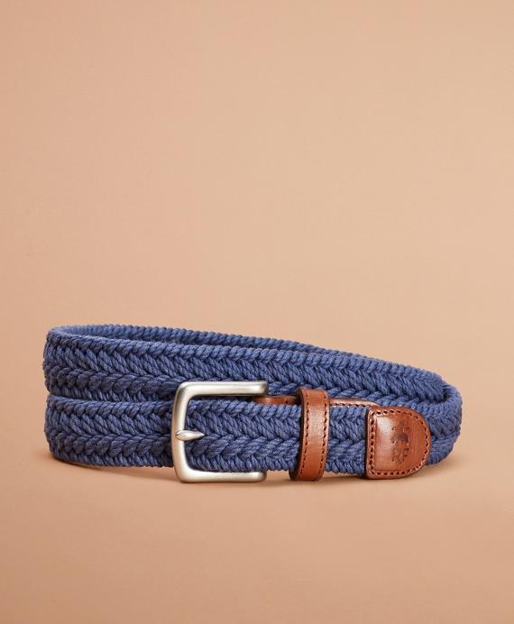 Woven Belt Blue