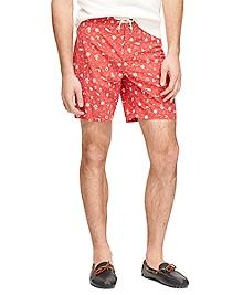 """8"""" Nautical Board Shorts"""