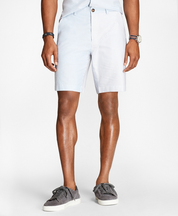 Supima® Cotton Fun Oxford Shorts Blue