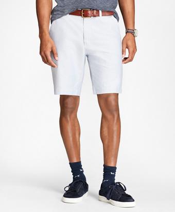 Supima® Cotton Oxford Shorts