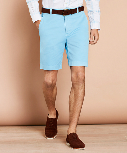 6de60f36792 Stretch Cotton Twill Shorts. remembertooltipbutton