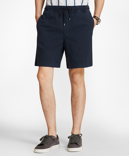 Elastic Stretch Chino Shorts