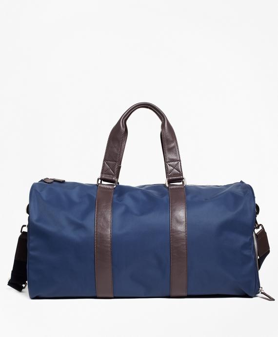 Nylon Duffel Bag Navy