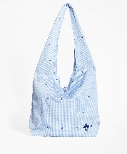 Pinwheel Seersucker Shopper Bag