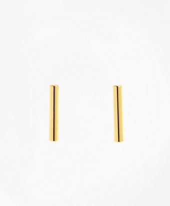 Tube Stud Earrings