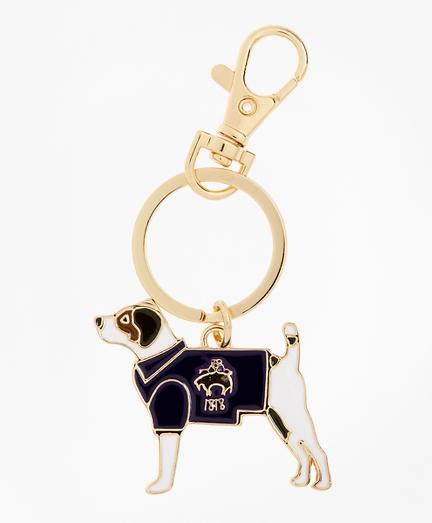 Enamel Dog Keychain