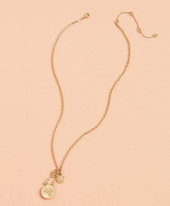Demi Fine Charm Necklace Gold