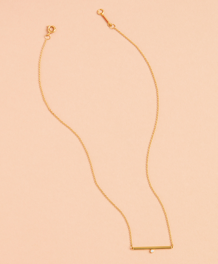 Demi Fine Bar Necklace