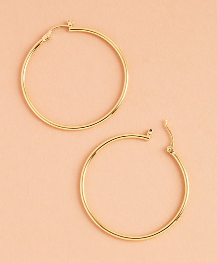 Demi Fine Hoop Earrings