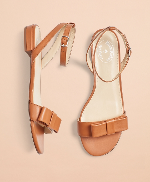 Leather Sandals Cognac