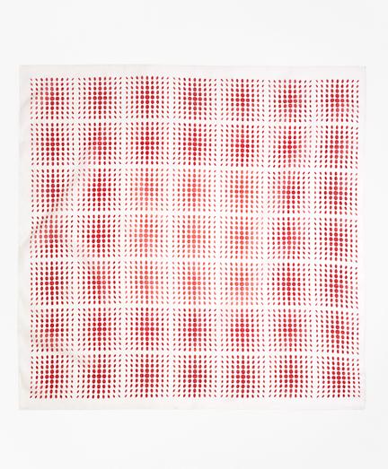 Polka Dot Square Scarf