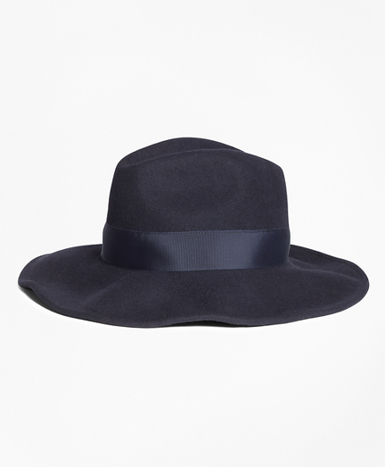 Felted Wool Fedora