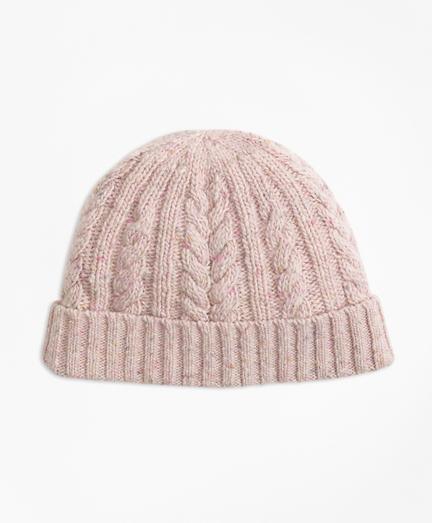 Cable-Knit Alpaca-Wool-Blend Hat