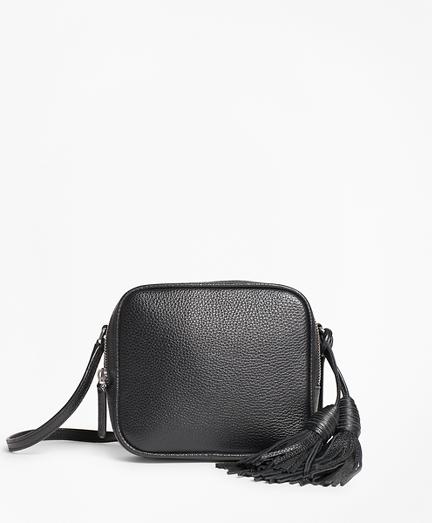 Tasseled Leather Cross-body Bag