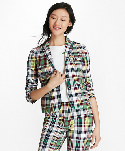 Madras Cotton Jacket