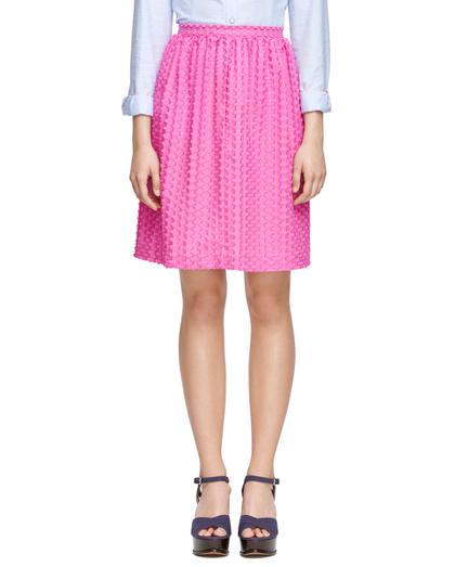 Textured Cotton Skirt
