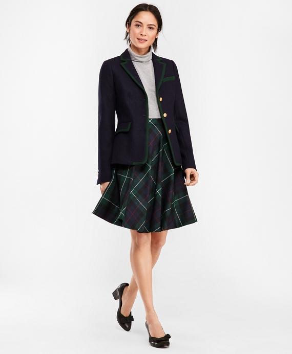 5d977eee3c73f Tartan Wool Twill Circle Skirt - Brooks Brothers