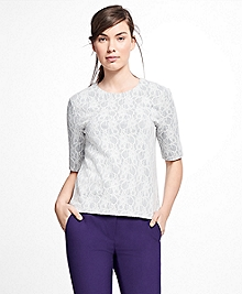 Bonded Lace Top