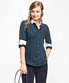 Black Watch Cotton Dobby Shirt