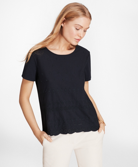 Eyelet T-Shirt